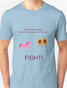 Invisible Pink Unicorn vs Flying Spaghetti Monster T-Shirt