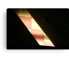 Sunlight on the Tiles Canvas Print