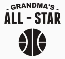 Grandma's All-Star Basketball Kids Tee