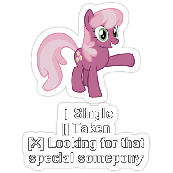 Cheerilee Wants that special some-pony... by James Scott