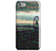 trippy brighton pier iPhone Case/Skin