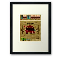 The Grand Old Party Framed Print