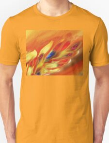 Vibrant Sensation Vivid Abstract V Unisex T-Shirt