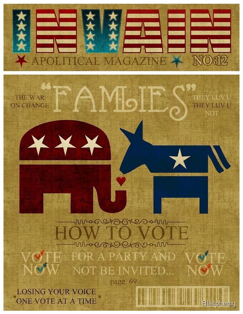 Vote Fam.LIES 2012 by Blasphemy