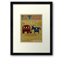 Vote Fam.LIES 2012 Framed Print