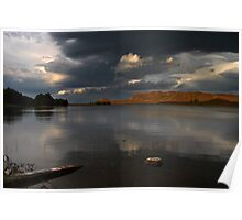 Light over The Loch Poster
