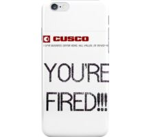 BTTF YOUR FIRED iPhone Case/Skin