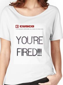BTTF YOUR FIRED Women's Relaxed Fit T-Shirt