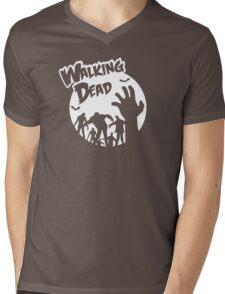Walking Dead Mens V-Neck T-Shirt