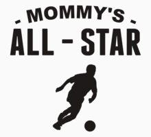 Mommy's All-Star Soccer Kids Tee