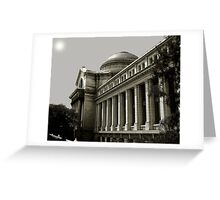 The Smithsonian Building of Natural History Greeting Card
