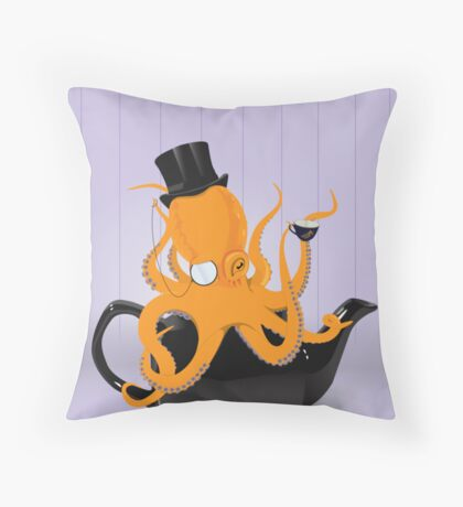 Hmmm, yes. Quite. Throw Pillow