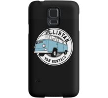 Back to the Future 'Libyan Van Rentals' Logo Samsung Galaxy Case/Skin