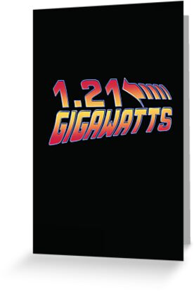 Back to the Future 1.21 Gigawatts by Creative Spectator