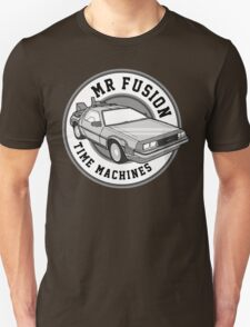 Back to the Future Mr Fusion Time Machines Unisex T-Shirt