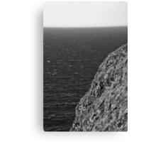 Ireland in Mono: Made of Stone Canvas Print