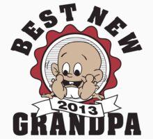 Best New Grandpa 2013 by FamilyT-Shirts