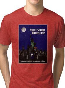 Visit Manhattan Tri-blend T-Shirt