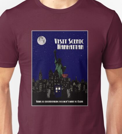 Visit Manhattan Unisex T-Shirt