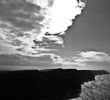 Ireland in Mono: Beaten By The Storm by Denise Abé