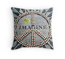 """Another year over, and a new one just begun...""  ---John Lennon  Throw Pillow"
