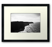 Ireland in Mono: Through Space And Time Framed Print