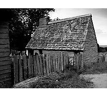 House - Plymouth, Massachusetts Photographic Print