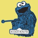 Wookie Monster by BUB THE ZOMBIE