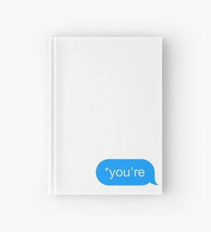 *You're - Chat Bubble Hardcover Journal