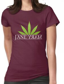 Jane Mary Womens Fitted T-Shirt