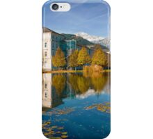 Stift Admont in autumn iPhone Case/Skin