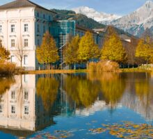 Stift Admont in autumn Sticker