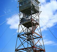 Red Hill Fire Tower by Richard Ahne