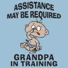 Funny New Grandpa by FamilyT-Shirts