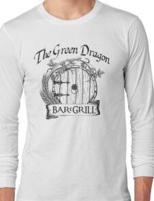 The Hobbit Green Dragon Bar & Grill Shirt Long Sleeve T-Shirt