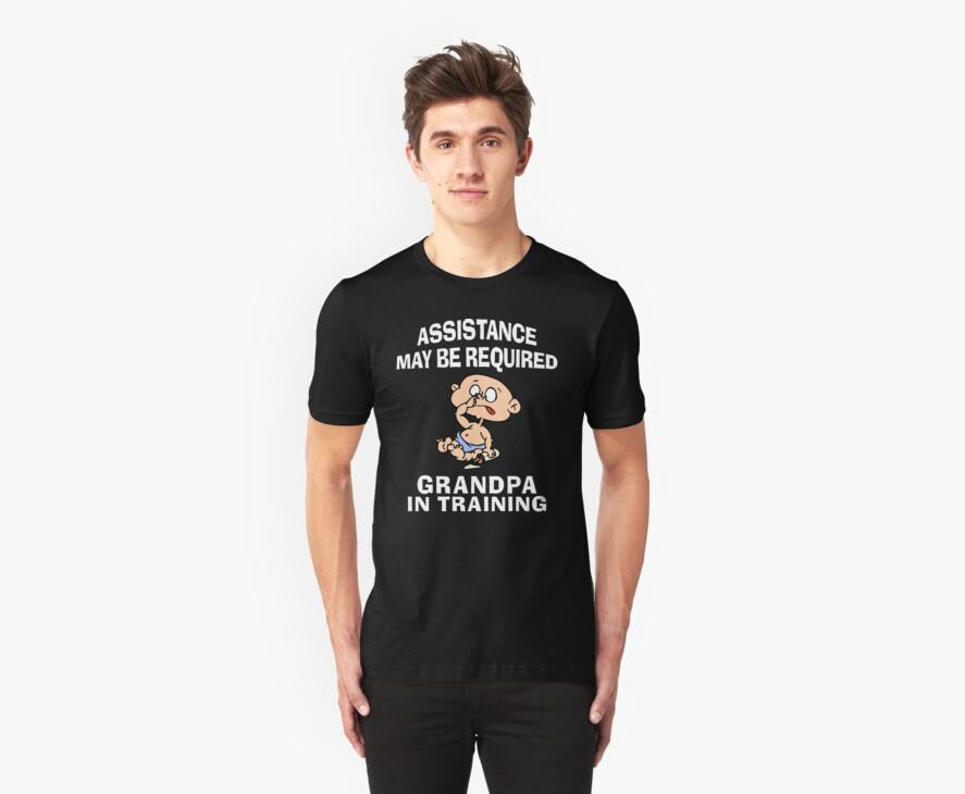 Funny New Grandpa by FamilyT-Shirts