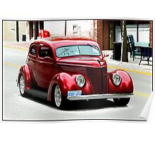 1937 Ford Poster