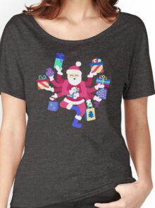 Dancing Pastel Shiva Claus Women's Relaxed Fit T-Shirt
