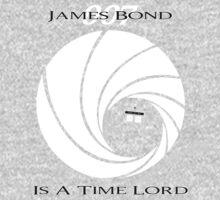 James Bond: Time Lord (dark version) Baby Tee