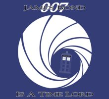 James Bond: Time Lord (dark version) by monkeyminion