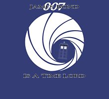 James Bond: Time Lord (dark version) Unisex T-Shirt