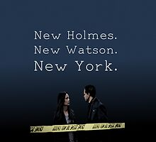 Elementary-New Holmes. New Watson. New York. by Kiluvi