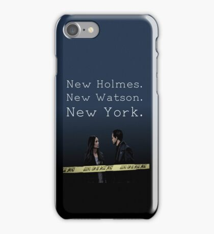 Elementary-New Holmes. New Watson. New York. iPhone Case/Skin