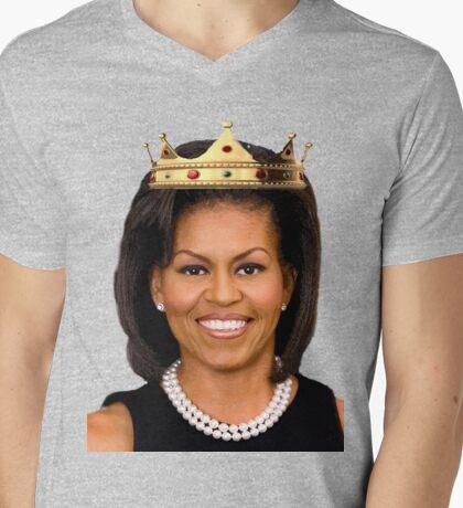 Michelle Obama Mens V-Neck T-Shirt