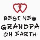 Best New Grandpa by FamilyT-Shirts