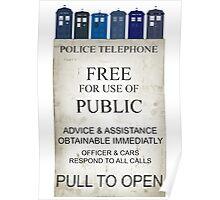 Doctor Who - Tardis evol Poster