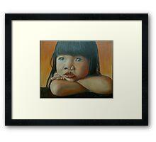 Amelie-An 4 Framed Print