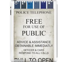 Doctor Who - Tardis evol iPad Case/Skin