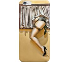 Window girl iPhone Case/Skin