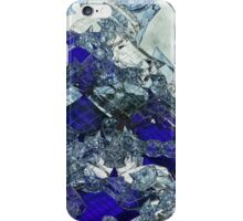 Glass Mess - Abstract render iPhone Case/Skin